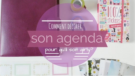 Comment Customiser Son Agenda Chiffons And Co